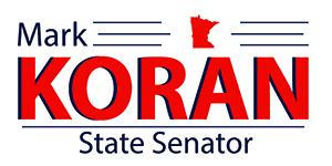 Senator Mark Koran logo