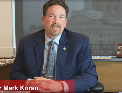 Koran Speaks on Pro Growth Tax Relief