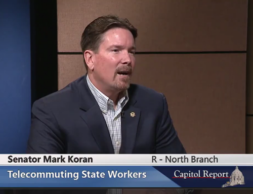 Senator Koran on Telecommuting State Employees