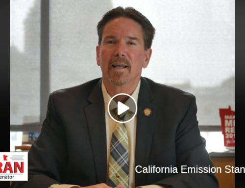 Senator Koran Talks CA Emission Standards
