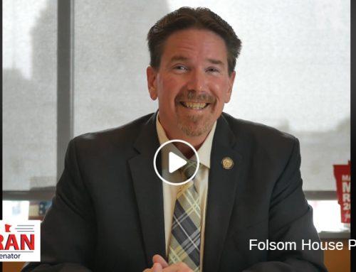 Senator Koran on Folsom House Project