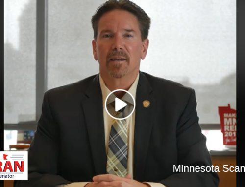 Senator Koran Calls Out Minnesota Scammers