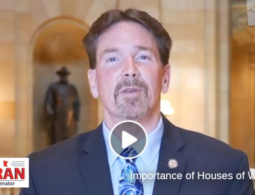 Senator Koran On Importance of Opening Houses of Worship
